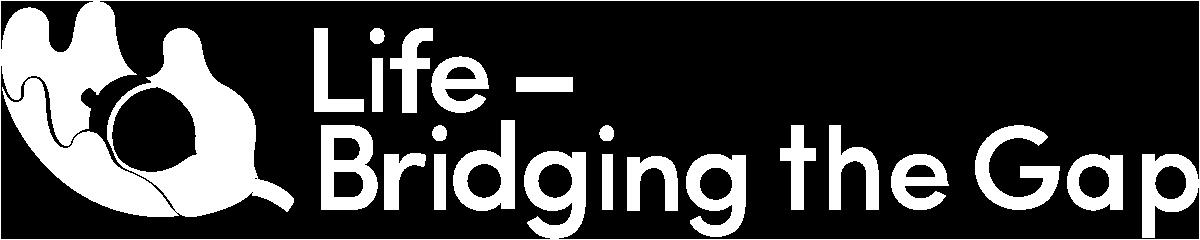 life bridging the gap logotyp
